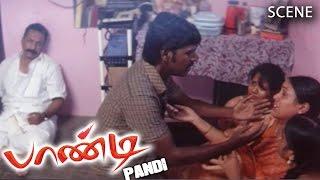 Pandi Tamil Movie   Scene   Raghava Lawrence Money Arrangements For 1st Sister Marriage
