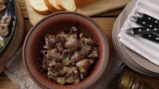 видео Как вкусно приготовить куриные сердечки?