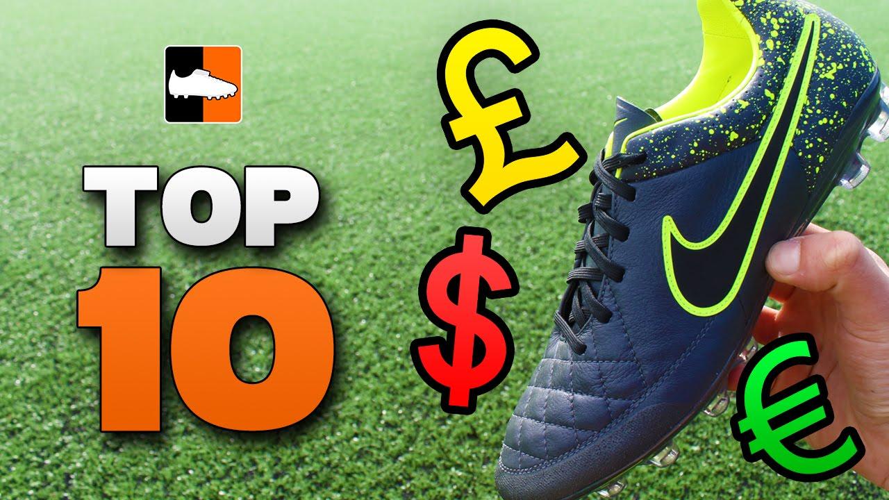 Top 10 Cheap Football Boots - Best
