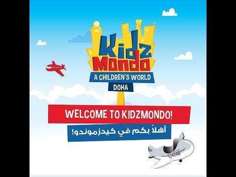 A Tour in KidzMondo Doha - جولة داخل مدينة كيدزموندو الدوحة