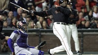 Barry Bonds hits #71 and #72  2001