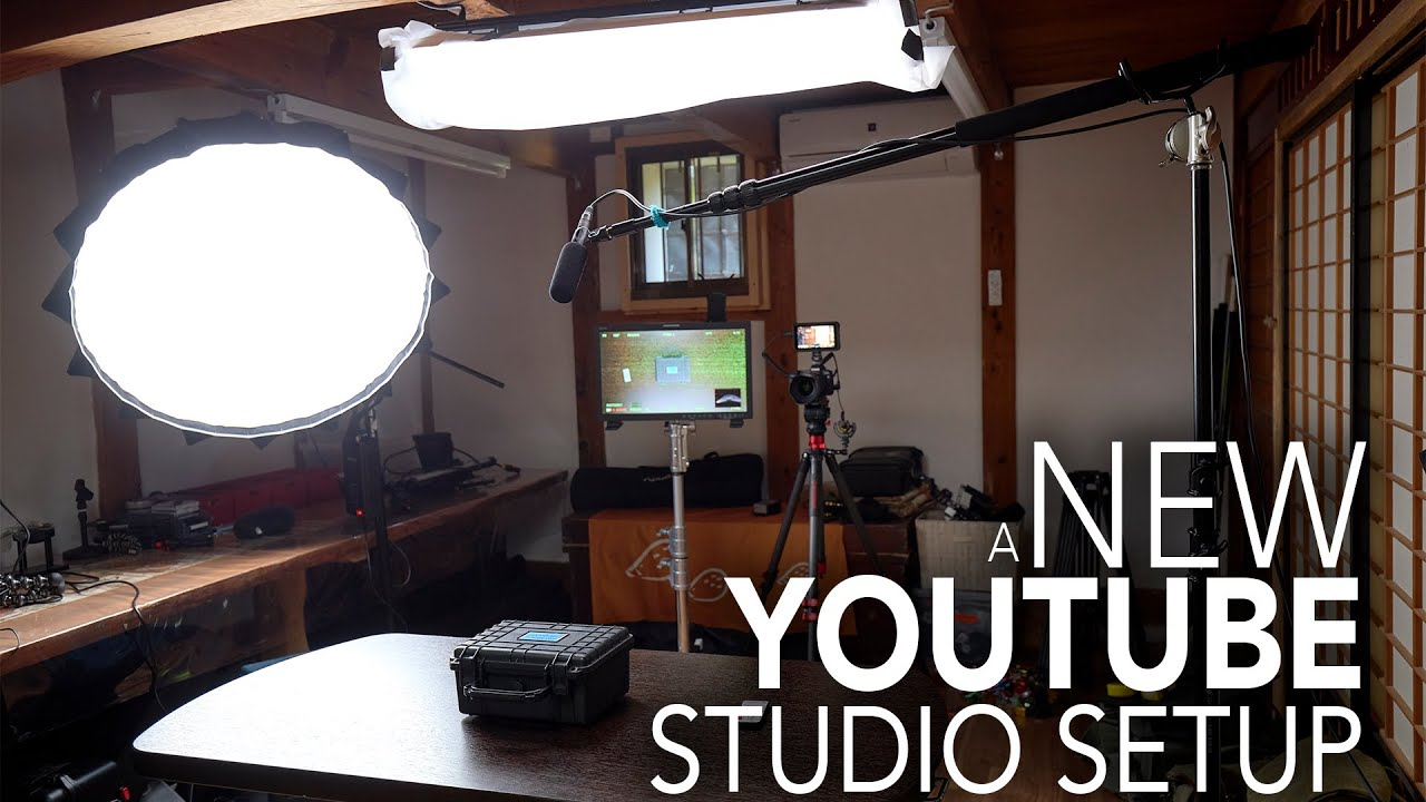 How To Set Up A Youtube Home Studio From Start To Finish Youtube