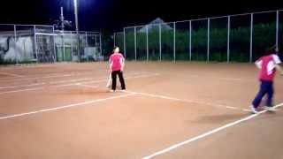旭化成ソフトテニス部ボレーボレー②2014.09.25