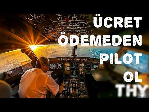 Ücret Ödemeden Türk Hava Yolları'nda...