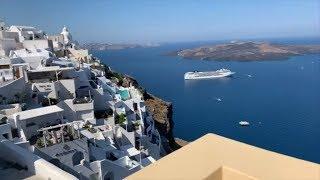 Khám Phá Kiến Trúc Khách Sạn tại Santorini cùng Lý Hải Minh Hà