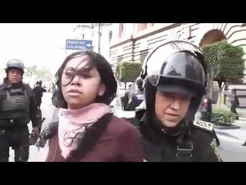 Rita Neri detenida por venir a expresar su libertad!