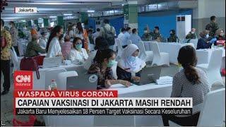 Download Capaian Vaksinasi di Jakarta Masih Rendah