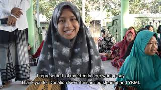 Education support for orphans in Lombok