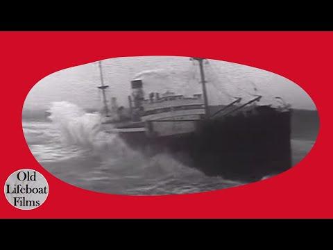 Rocket Rescue 1963 RNLI Documentary Tyne Tees TV