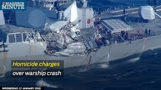 Homicide charges over warship crash thumbnail