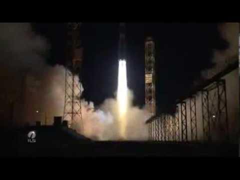 Sirius XM FM-6 Proton Rocket Launch Highlights - International Launch Services
