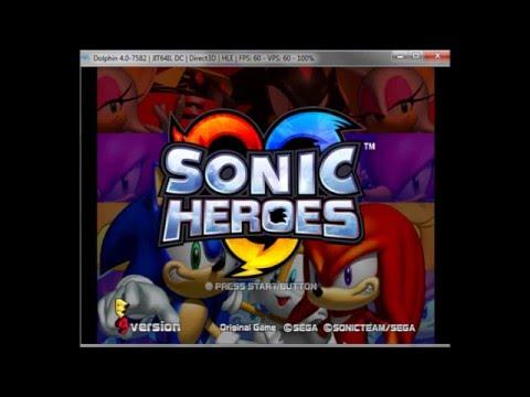 Sonic Heroes Gamecube E3 Beta - Iso Release!