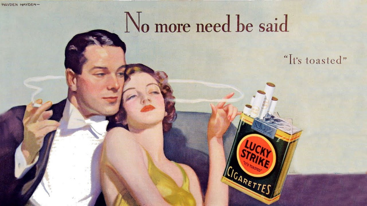 When was the first cigarette made