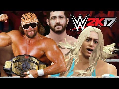 MAN VS GOD - WWE 2k17 Gameplay
