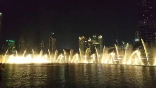 Dubai Fountain Show - Epic!