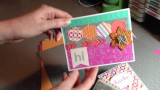 introducing the dream pop paper packet from ctmh   cards by stephanie