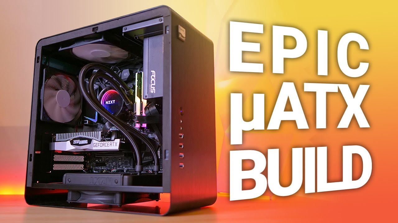 The Micro Beast Building A Small And Light Micro Atx Gaming Pc Youtube