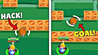 1000 IQ HACK GOAL in Brawl Stars I Wins & Fails #41