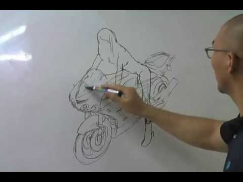 김정기 Kim Jung Gi MOTORCYCLE, 2009