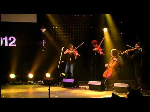 Performance: Fourplay String Quartet at TEDxSydney
