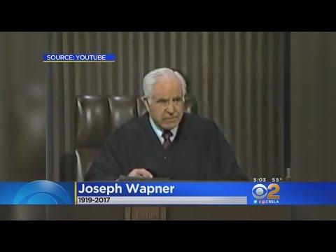 Former 'People's Court' Judge Joseph Wapner Dies At 97