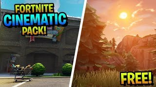 Fortnite Cinematic Pack 1# Fighting, Nature and More!!!