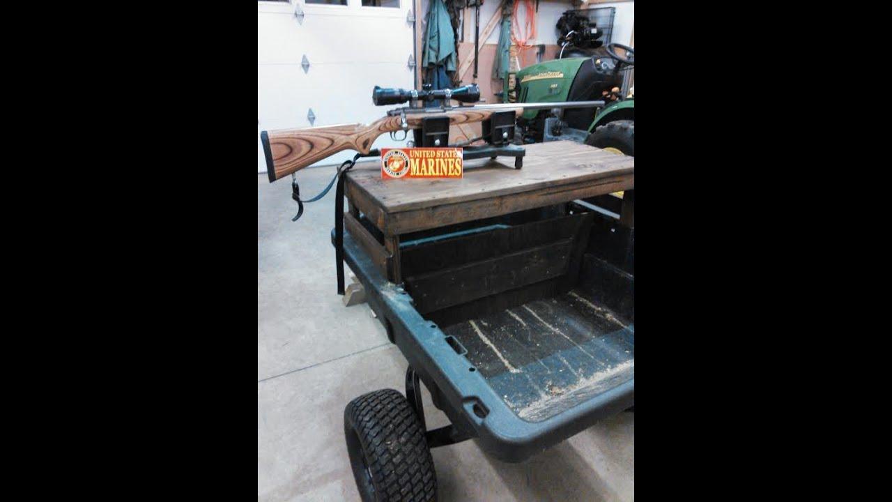 Mobile Atv Wagon Shooting Table Bench Project By Kvusmc