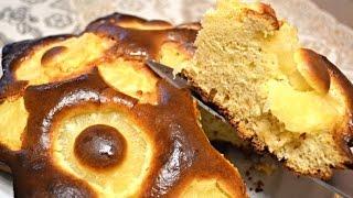 Ананасовый пирог на сгущенке.Быстрый и простой рецепт вкусного пирога.
