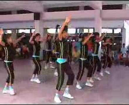 high school aerobic show (นครสวรรค์)
