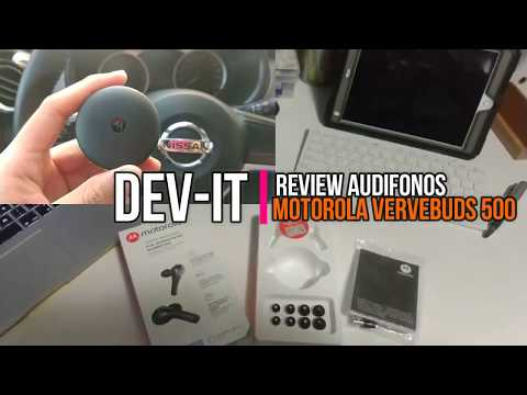 Review audifonos Motorola Verve buds 500