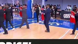 Winston Salem State Former Teammates Surprise Stephen A. Smith