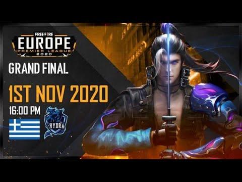FREE FIRE EUROPE PREMIER LEAGUE 2020 GRANDFINAL  FFEUPL