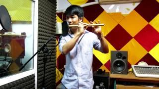 Quê Hương  : sáo trúc Mão Mèo. Guitar Hoàng Như Định