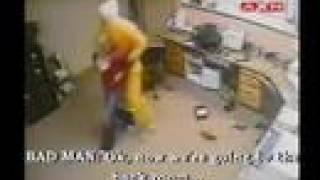 beautiful woman attacked caught on surveillance camera
