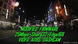 A119S Firmware MOD-05 25Mbps+Sharp32+Edge168