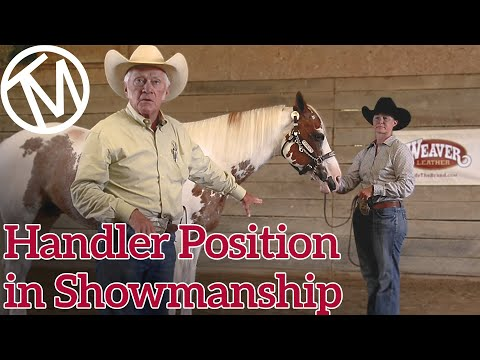 Horse Showmanship Tips - Terry Myers