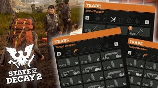 BUYING ALL RED TALON WEAPONS! State of Decay 2