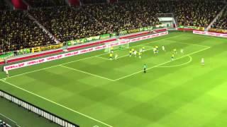 pes 2014 mondiali pmf brasile vs germania 1 1