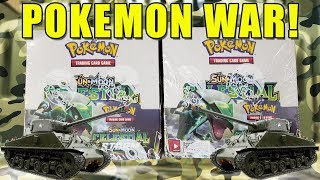 POKEMON CELESTIAL STORM BOOSTER BOX WAR!! Opening 2 Celestial Storm Booster Boxes of Pokemon Cards