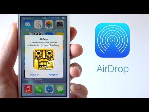 how to turn on airdrop on iphone 5