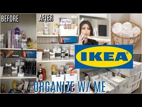 IKEA ORGANIZE With Me: IKEA ORGANIZATION