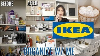 IKEA ORGANIZE With Me: IKEA ORGANIZATION