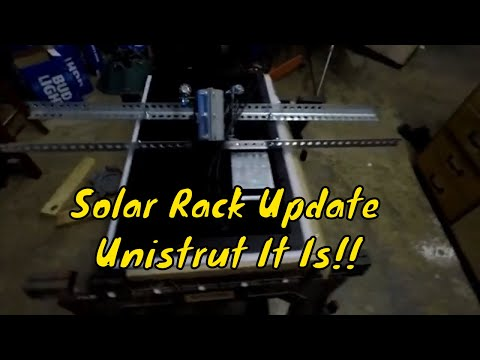 Project Light The Feed Shed | Solar Panel Rack Update