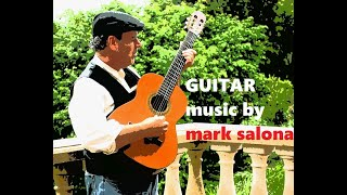 Beautiful GUITAR with strings  BY  MARK SALONA