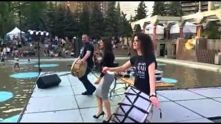 Arab Festival 2015 - Hanan Amiri, Arabic Dabke Mix