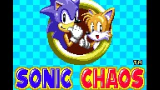 Game Gear Longplay [036] Sonic Chaos