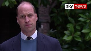 Prince William: BBC failures contributed to my mother's 'fear and paranoia'