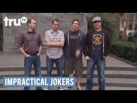Impractical Jokers - Sal and Joe Try to Join Strangers Conve