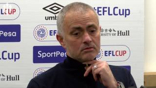 Jose Mourinho: We Are NEVER Favourites! FULL PRESS CONFERENCE Hull City 2-1 Man United