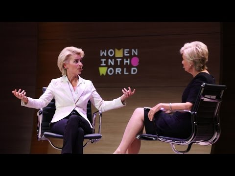Ursula von der Leyen: A converstion with the woman defending Germany